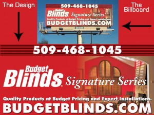 Budget Blinds Billboard