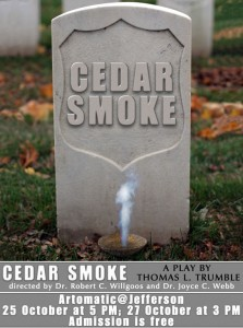 Cedar Smoke by Thomas L. Trumble