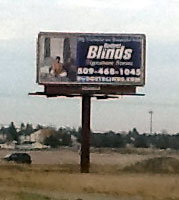 Client hired me once again to create new billboards for his place of business.